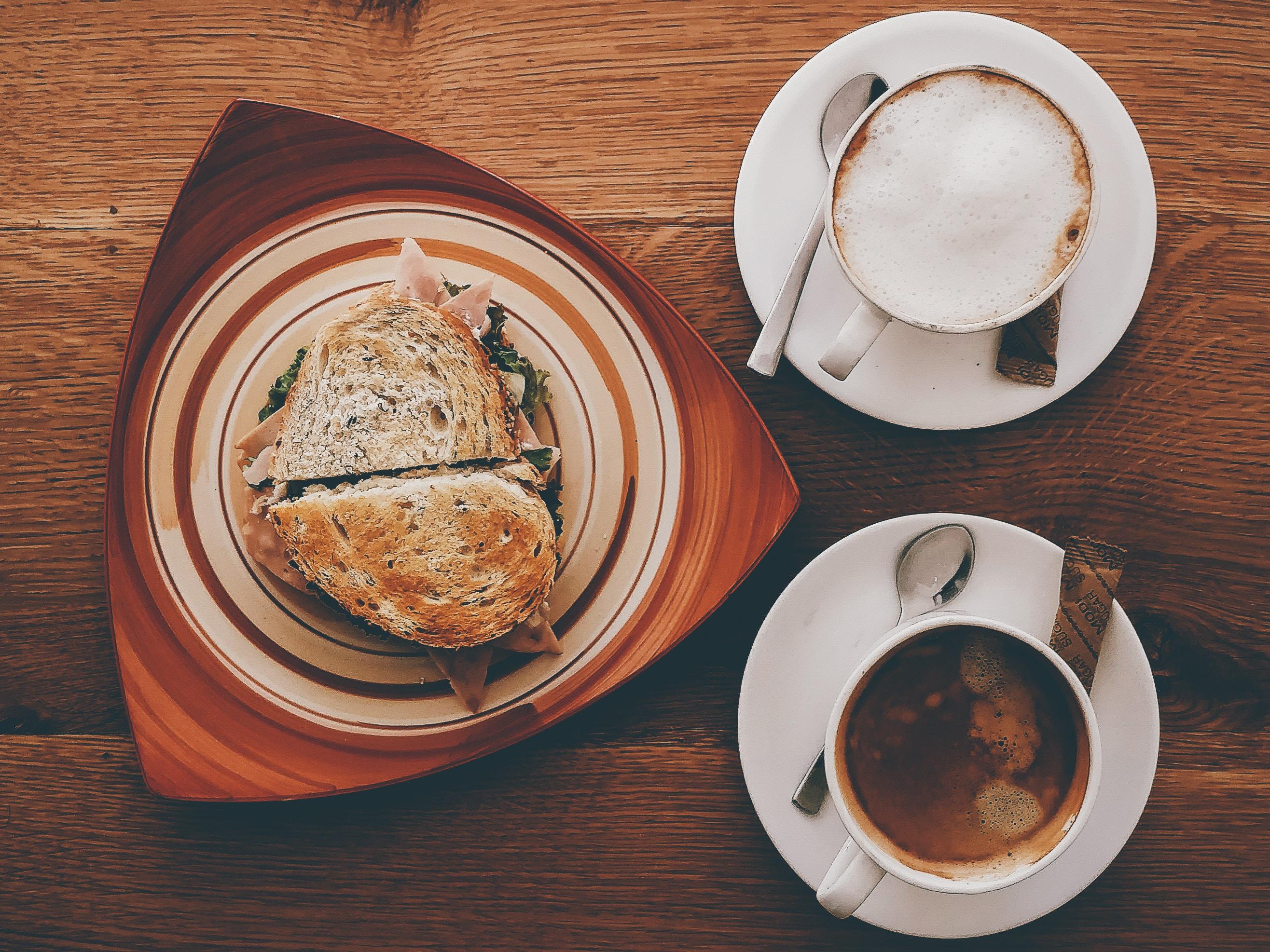 sandwich krokante kip