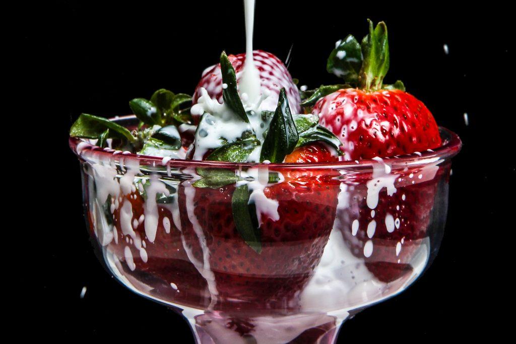 desserts met drank