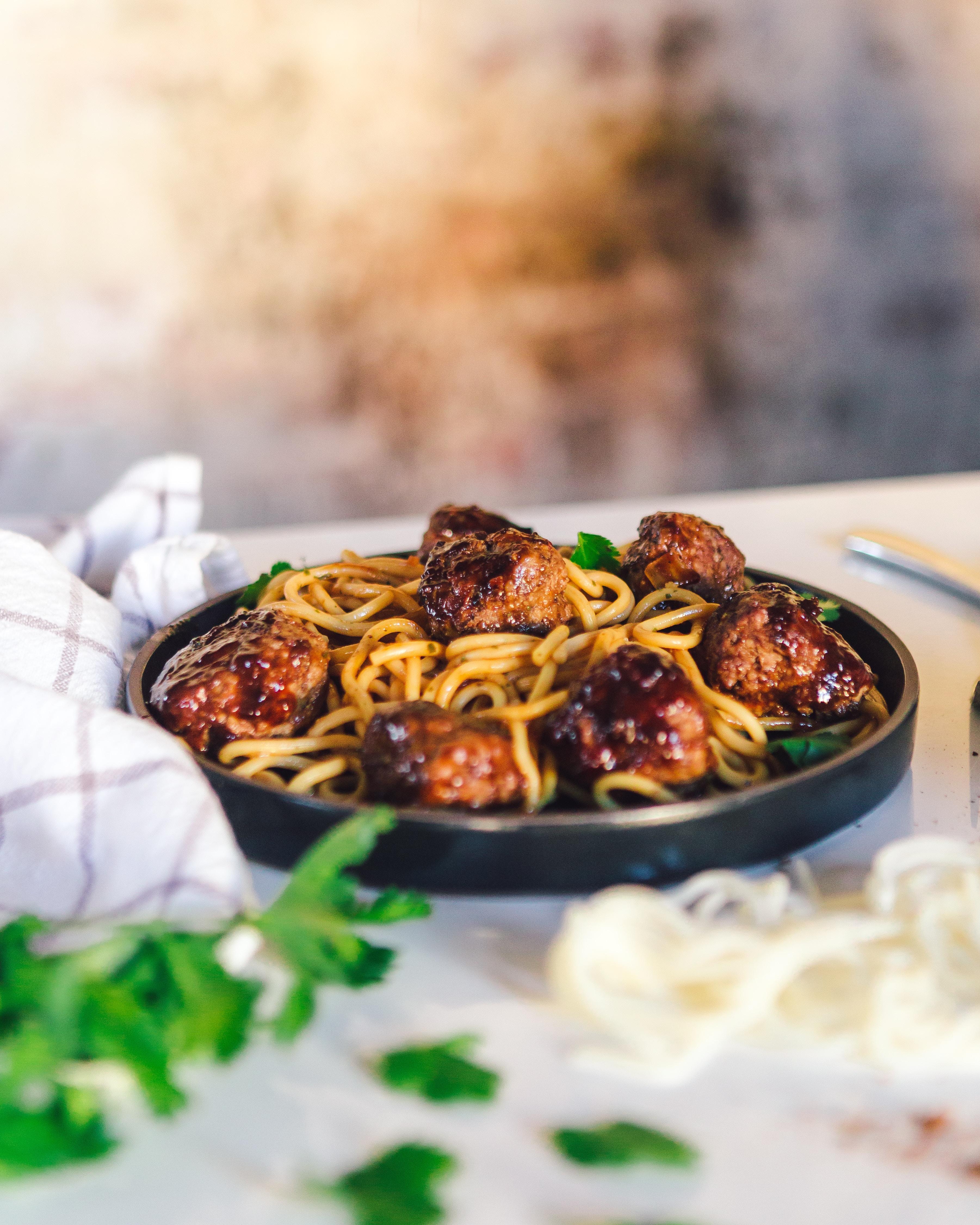 zoet-pittige noodles
