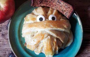 Mummie brie om je Halloween goed af te sluiten