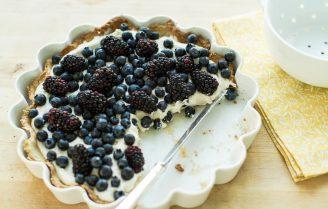 Makkelijke Gin & Tonic Cheesecake