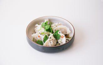 Crispy garnalen dumplings