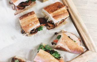 Banh Mi met krokante tofu