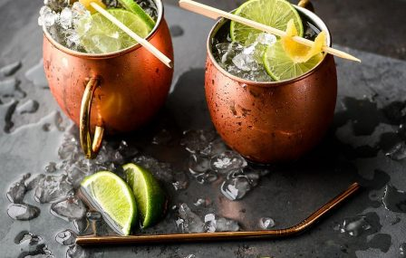 Dry January: Mocktail Mule met gemberbier en limoen