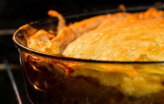 Gebakken aardperen met Parmezaanse kaas, tijm en citroen