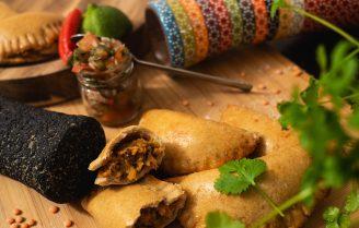 Empanadas met scherpe chimichurri