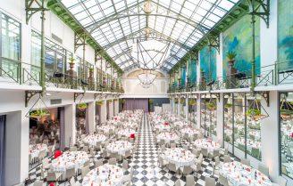 Arabisch tafelen op een droomlocatie in Amsterdam