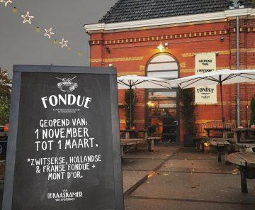 Bijna open! Fondue – kaasfondue restaurant extraordinaire.