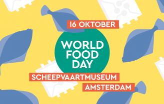 World Food Day: met 500 mensen aan tafel tegen honger.