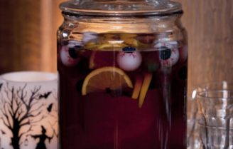 Hallowine sangria voor (horror) movie night