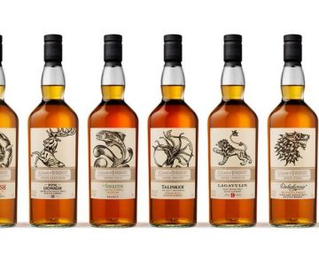 Game of Thrones Single Malt Whisky's zijn terug en meer..