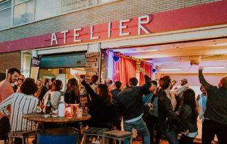 Club Atelier: flexwerken, lunch to-go en van 01 juni een heel fijn terras.