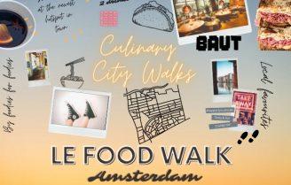 27 + 28 februari: culinaire stadswandeling in Amsterdam Oost