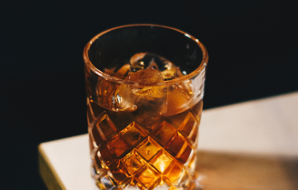 cocktail recept: Starry Sky Old Fashioned