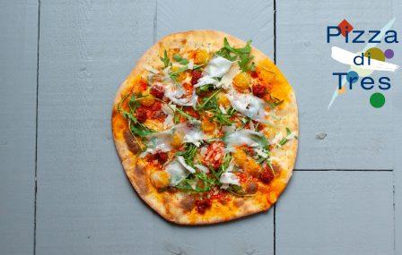 De Pizzabakkers x Restaurant Tres: een unieke samenwerking.