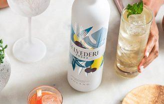 Sundownder-cocktail: Belvedere Air
