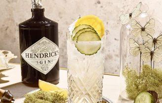 Cocktail o'clock: cucumber lemonade