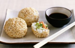 Sushi-balletjes